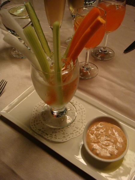 蔬菜棒沙拉很新鮮