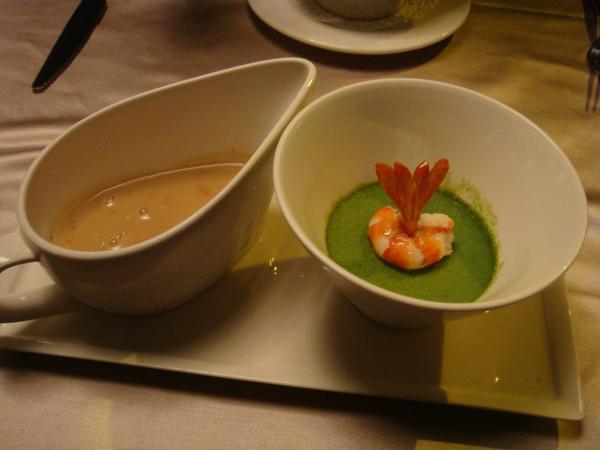鮮蝦蕈菇濃湯組合前