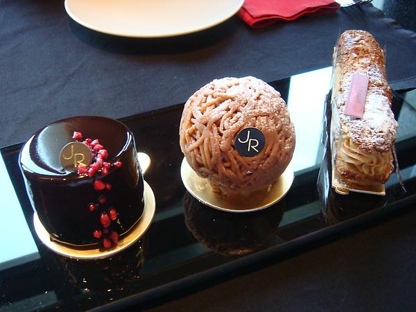 今天雀屏中選的三款蛋糕