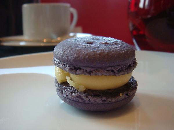 紫羅蘭馬卡龍