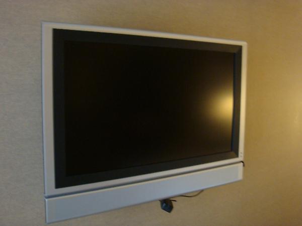 臥房裡的液晶電視