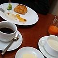舒服優閒的早餐