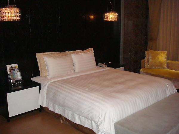 入住日月經典套房 房間約20~25坪