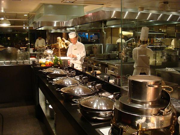 熱食區的洋料理