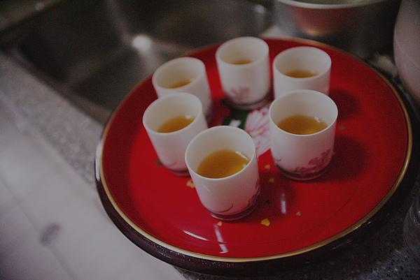 甜茶準備好了
