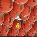 廟裡的紅燈籠