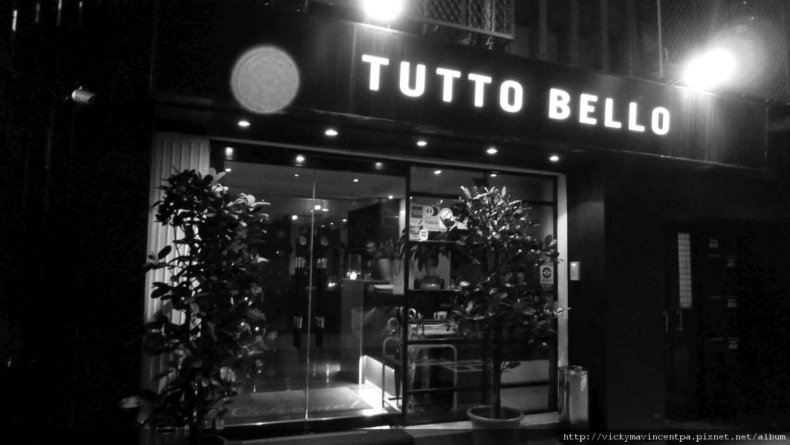 TUTTO BELLO 12/24 PM19:00