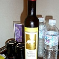 自己帶來的加拿大冰酒 (醺~)