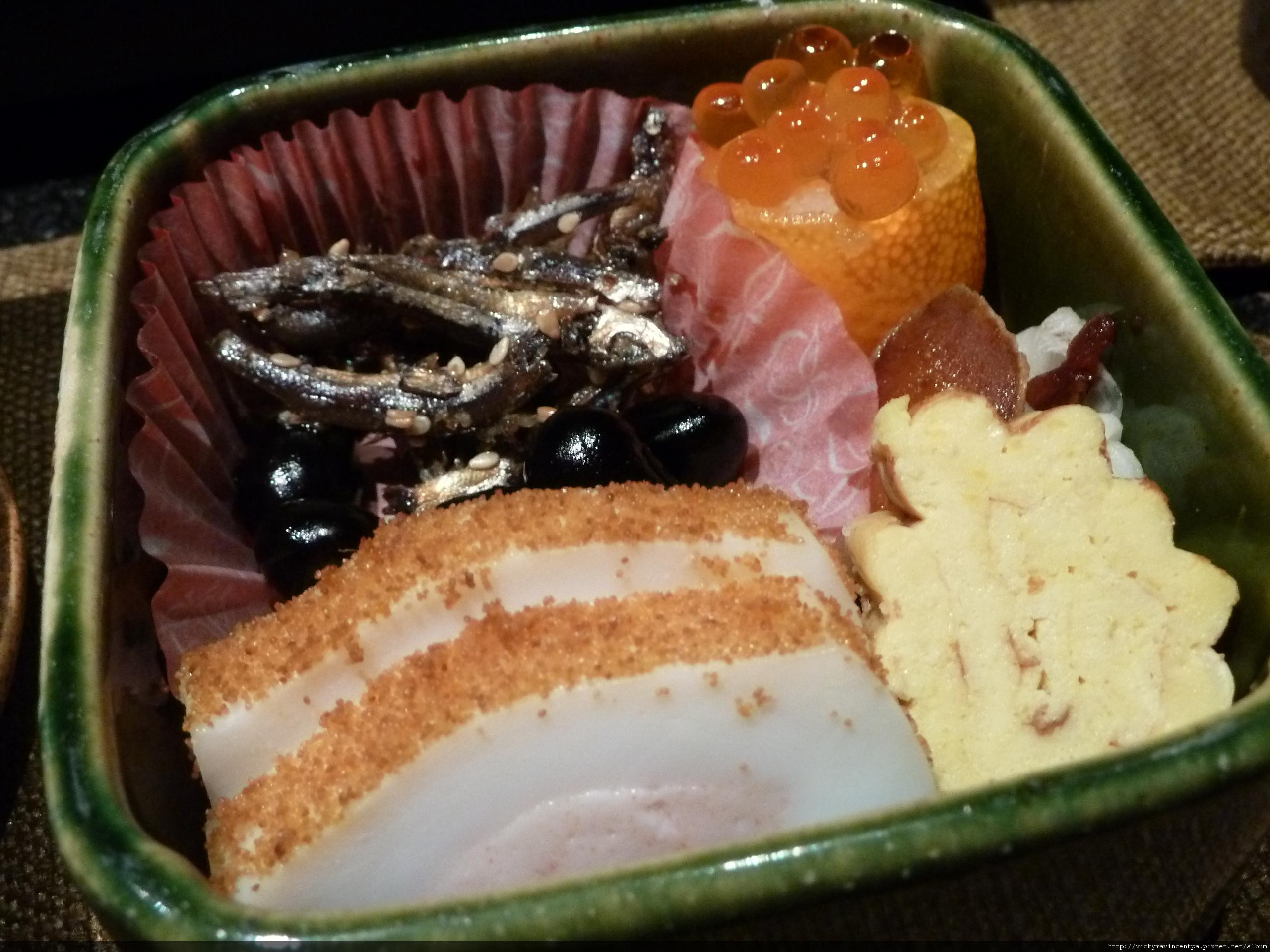 日式小菜拼盤