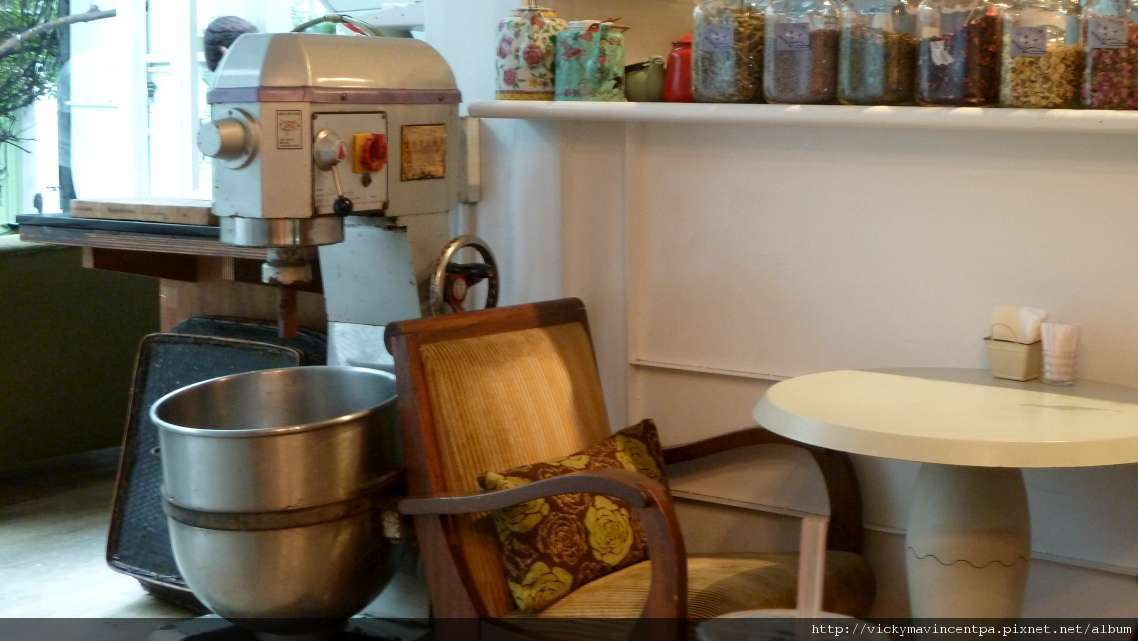 攪麵粉的家私