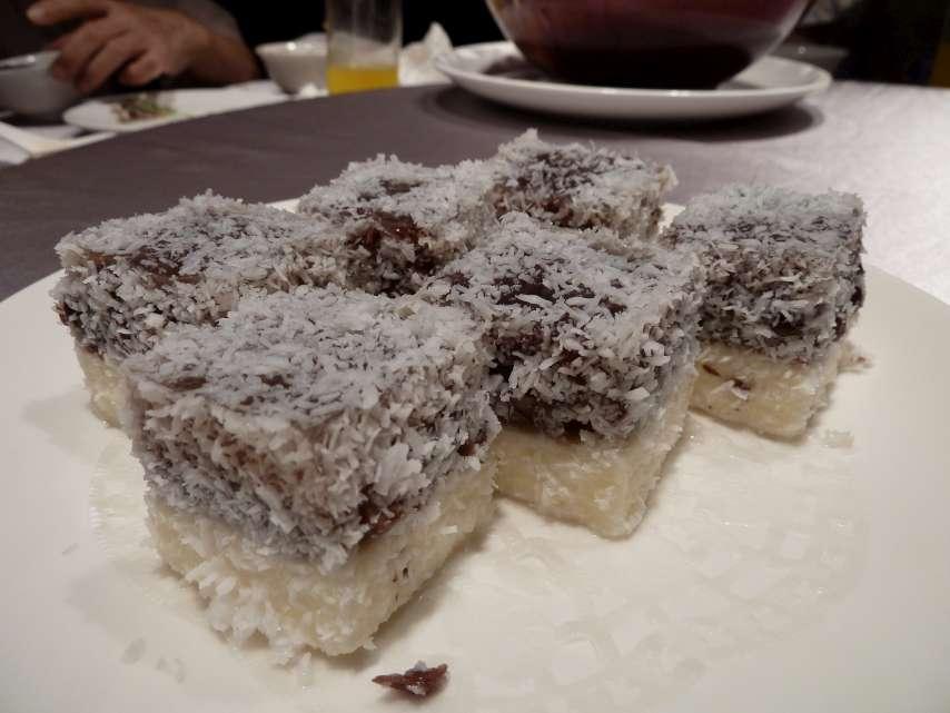 鴛鴦紅豆糕