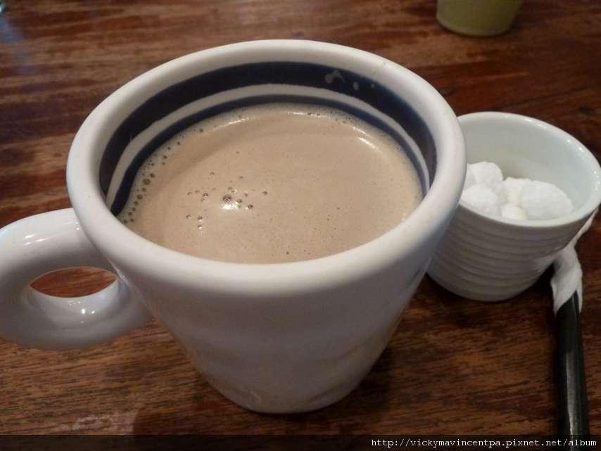 拔拔單點的奶茶