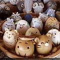 可愛的12生肖陶藝品