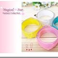 ♥ Magical Star ♥ MSH69455 韓國熱銷! 夏季超甜美女孩果凍晶亮四方手環