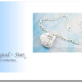♥ Magical Star ♥ MSH39574 韓版明星款氣質女孩桃心水鑽手鍊