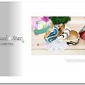 ♥ Magical Star ♥ MSH69568 韓版夏季海灘曲形浪花風情手鐲(黑)