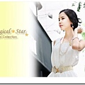 ♥ Magical Star ♥ MSB71214 韓版氣質淑女蝴蝶結百搭腰帶(米白)