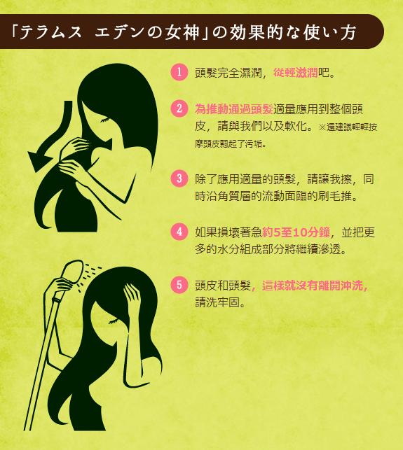 女神Teramusu伊甸園 洗髮費 秀發和頭皮治療   石澤研究所
