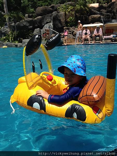 Sheraton Waikiki pool
