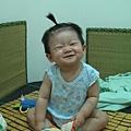 我愛這樣笑。媽媽的寶貝阿