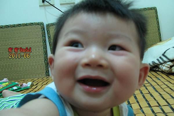 好喜歡你這個笑容,天真的模樣。