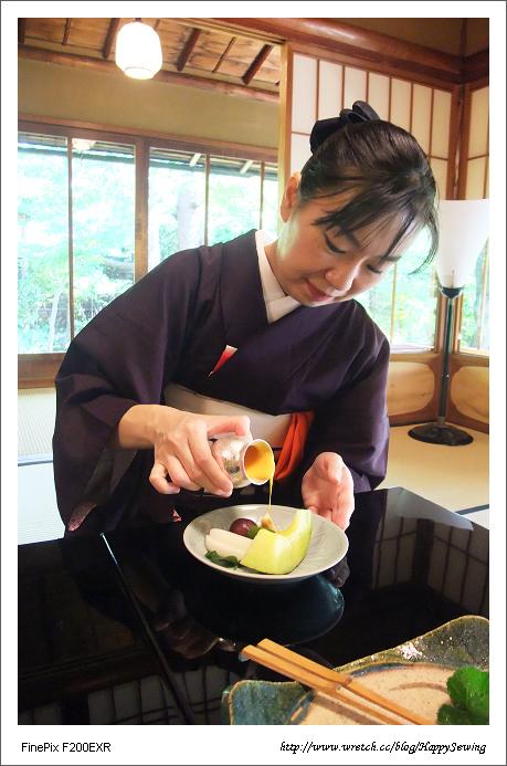 京都吉兆-女將組製水果盤