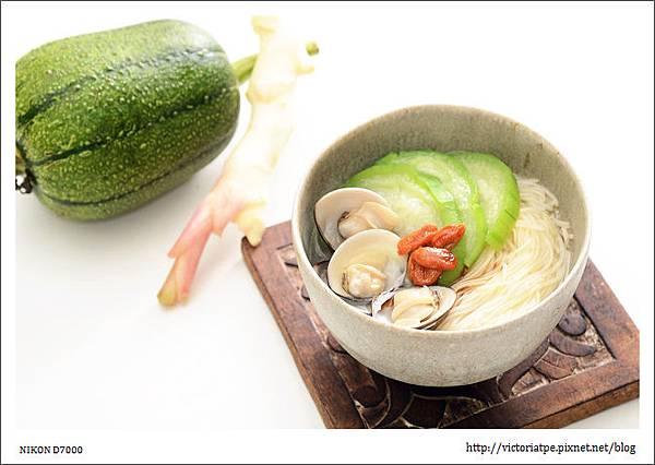 蛤蜊絲瓜麵線-A成品01.JPG