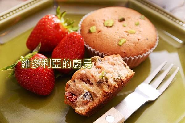 草莓開心果磅蛋糕-01.JPG