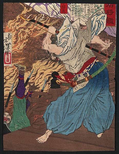 燃える本能寺で戦う信長.jpg