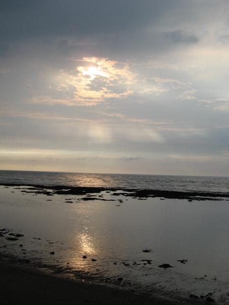海岸的天空