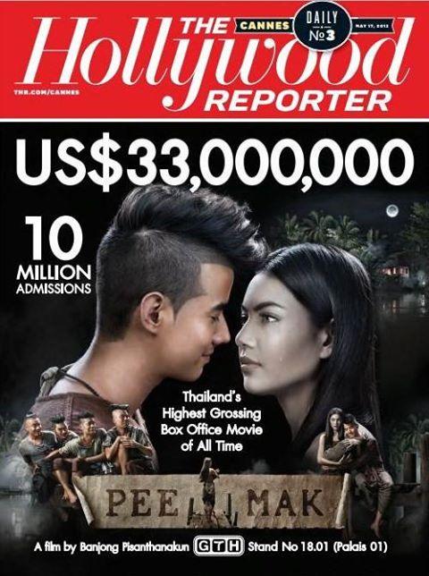 好萊塢報導者大篇幅報導【淒厲人妻】十億泰幣票房紀錄