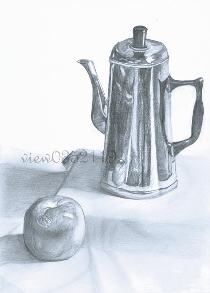 14靜物 蘋果、水壺.jpg
