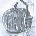 16靜物 南瓜、水杯.jpg