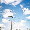 路邊電線杆