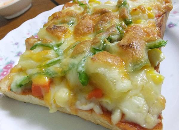 吐司pizza完成2
