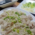 蒜泥醬淋白肉片IMAG0361
