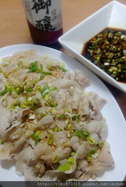 蒜泥醬淋白肉片IMAG0370_副本