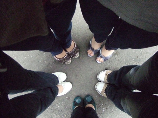 花-五個人的鞋