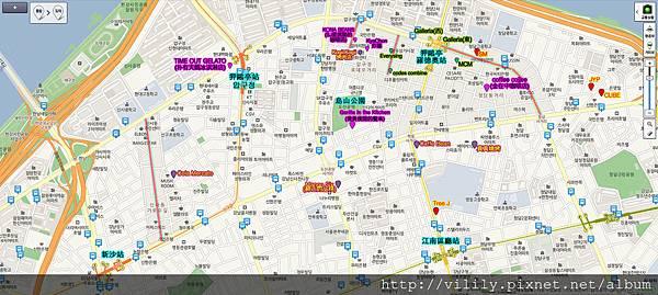 狎歐亭附近地圖