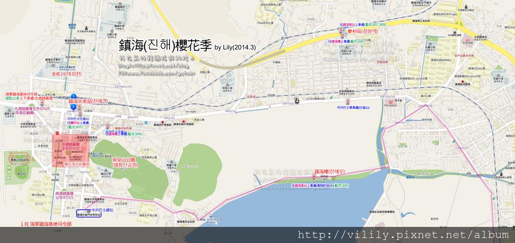 鎮海交通地圖NEW