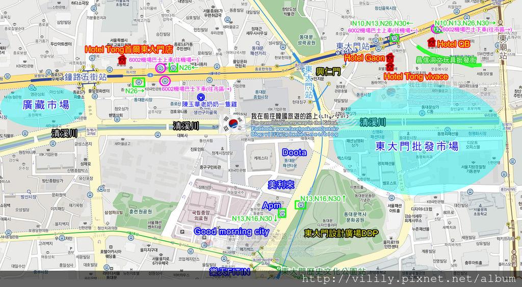 Tong-map