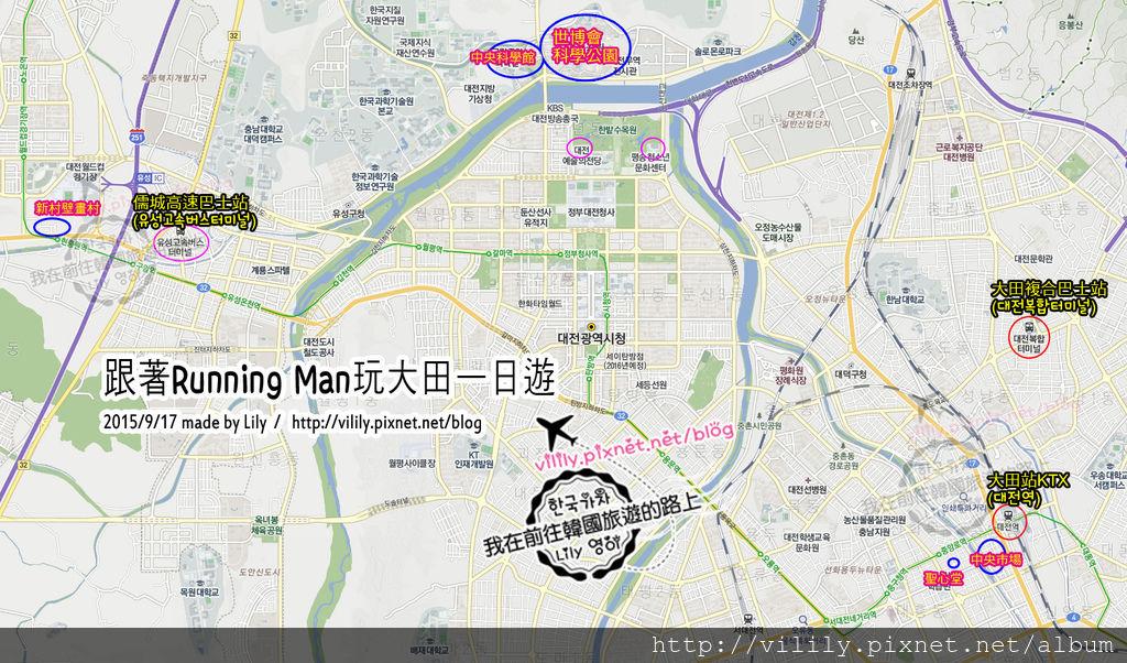 大田map