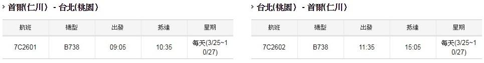 濟州航空仁川航班