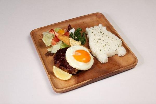 Western food set