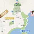 濟州西歸浦山房山油菜花제주 산방산 map.jpg