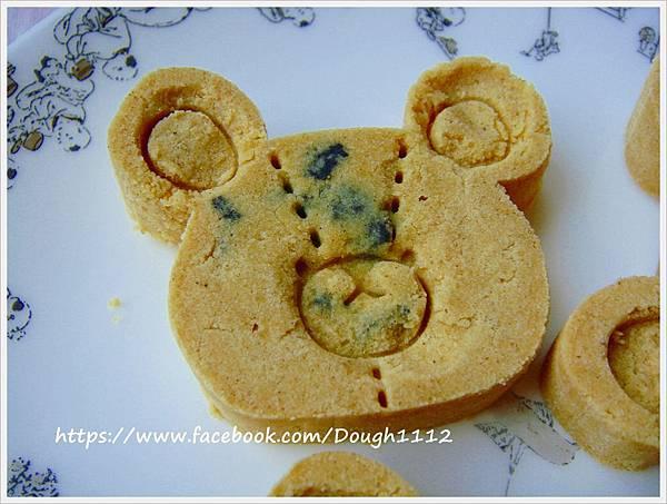 第一次作小熊綠豆糕 .JPG