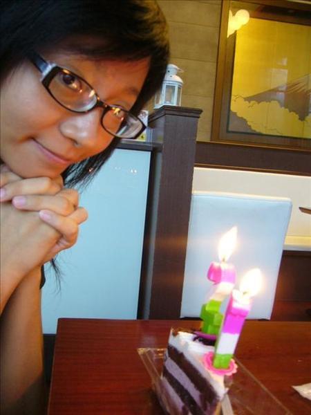 提前慶祝的生日