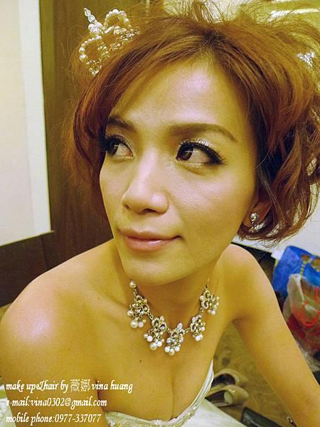濱崎步短髮造型,龐克新娘造型,短髮新娘,台北新祕-薇娜vina huang (2).jpg