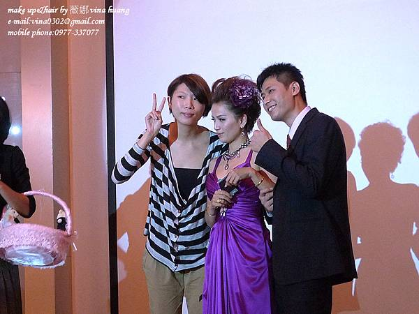 濱崎步短髮造型,龐克新娘造型,短髮新娘,台北新祕-薇娜vina huang (15).jpg