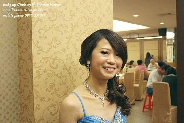 氣質側邊盤髮,優雅造型,浪漫捲髮,台北新祕~薇娜VINAHUANG (3).jpg